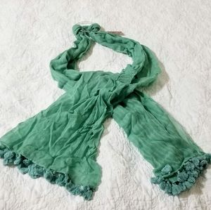 Merona 100% cotton light Green scarf
